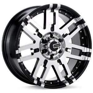 0x8 Mamba Type M2 (Black / Machined) Wheels/Rims 5x127 (MAMM2 7873B+6)