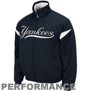 Majestic New York Yankees Youth Navy Blue White Therma Base Triple