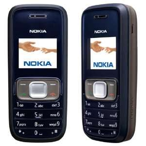 Nokia 1209 Dual Band 900/1800 Unlocked GSM Phone (For Int