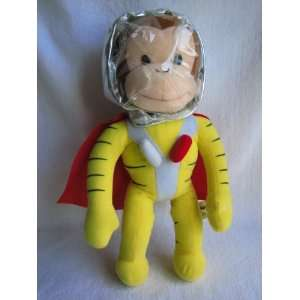 Curious George 13 Space Plush with Red Cape Everything