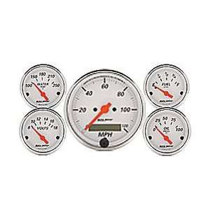 Auto Meter 1302 ARCTIC WHITE GAUGE KIT Automotive