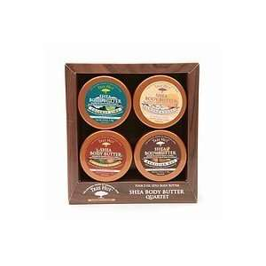 TREE HUT Shea Butter Body Quartet Set 7oz/198g (Model