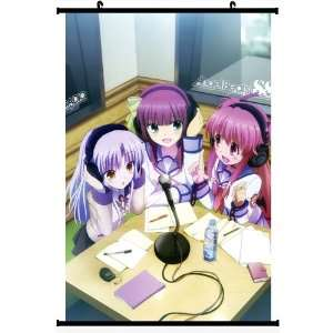 Angel Beats Anime Wall Scroll Poster Tenshi Tachibana Kanade Yuri