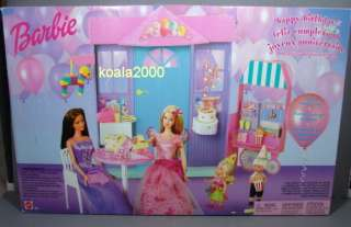 HAPPY BIRTHDAY PLAYSET FOR BARBIE UNOPENED 074299569296