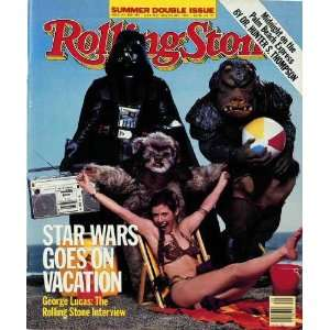 Rolling Stone Cover of Cast of Return of the Jedi / Rolling Stone