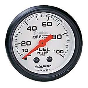 Auto Meter 5712 Phantom Mechanical Fuel Pressure Gauge