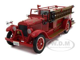 1928 REO FIRE ENGINE TRUCK 132 DIECAST MODEL CAR