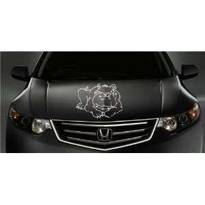 HONDA HOOD DECAL sticker FIT ANY CAR BULLDOG