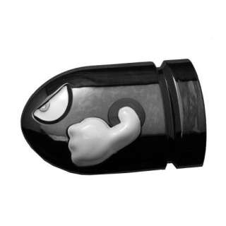 Mario Brothers Bullet Bill Enemy Reflective Belt Buckle Clothing