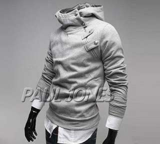 Men's Slim fit hoodies Jacket Coat 4Colors XS S M L onsale