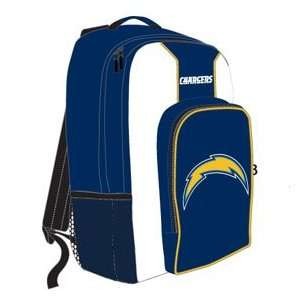 San Diego Chargers NFL Back Pack   Southpaw Style Sports