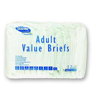 96 Invacare Value Adult Incontinence Brief Diaper MD