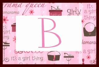 Personalized luggage backpack bag tag GLAM Girls Purse