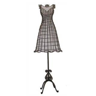 High Fashion Wire Mannequin Lifesize Decorative Display Dress