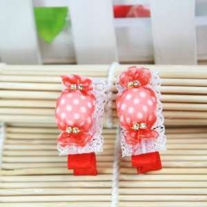 / Baby /Newborn/ Toddler/ Girls Cute Candy Shaped Hair Clip (4126 3