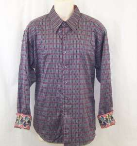 NEW ROBERT GRAHAM EMBROIDERED CASUAL MENS Special Edition SHIRT SZ XL