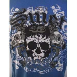 SMET CHRISTIAN AUDIGIER SKULL TATTOO U MENS S/S TEE SHIRT