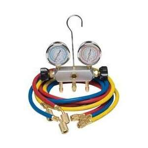 Dayton 4PDF9 Manifold Gauge Set, 2 Valve, 3 Hoses Appliances