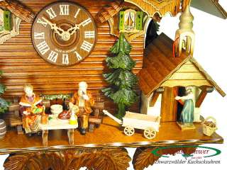 Black Forest Cuckoo Clock 8 Day The Grandparents NEW
