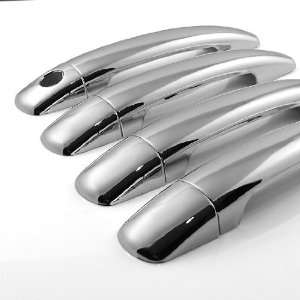 New Look Replacement Triple Chrome Door Handle Cover Set