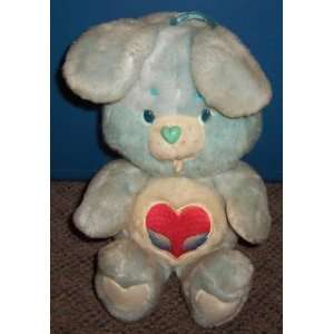 1984 Kenner Care Bears 13 Plush Swift Heart Rabbit