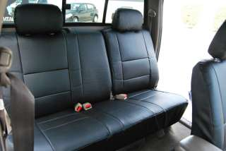 TOYOTA TACOMA 2000 2004 S.LEATHER CUSTOM FIT SEAT COVER