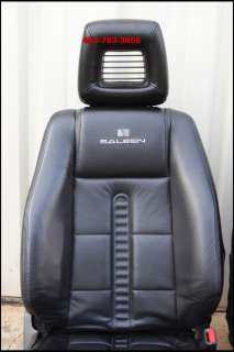 SALEEN FORD MUSTANG LEATHER BUCKET SEATS COUPE 05 06 07 08 09 2010