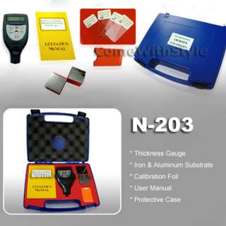 ALL IN ONE Digital Coating Thickness Gauge Tester Iron