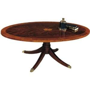 Hekman Copley Square Oval Cocktail Table