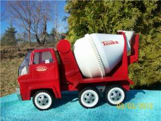 TONKA Mound Minn Nice Original 1960,s Big CEMENT MIXER TRUCK full