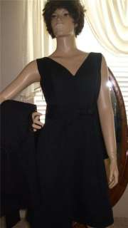 VINTAGE *LBD* THE GENERATION GAP ~~SHEATH DRESS SET