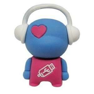 New Cute Music Buddy 4GB USB Flash Drive