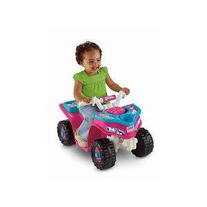 Fisher Price Barbie Lil Trail Rider ATV Girls Sport Quad Toys & Games