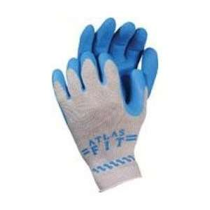 4 Pair Firm Grip Latex Coated General Purpose Gloves