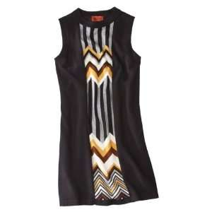 Missoni for Target® Sleeveless Sweater Dress with Front Panel   Black