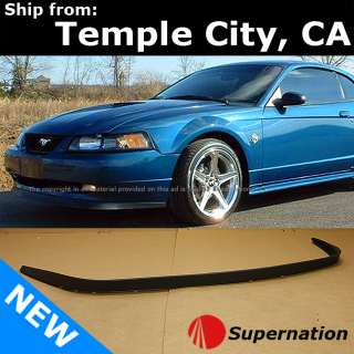99 04 Ford Mustang GT SVT Cobra ABS Front Lower Bumper Spoiler Lip