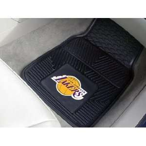 Los Angeles Lakers 4 Piece Vinyl Car Mats