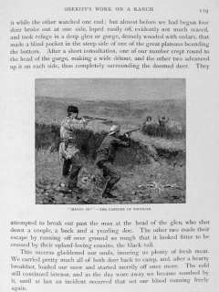 1880 Theodore Roosevelt Big Game Hunting Frederick Remington Painting