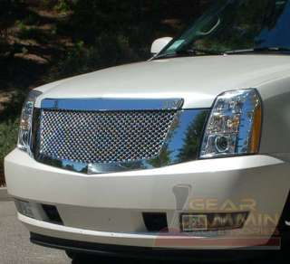2007   2009 Cadillac Escalade Chrome Mesh Grille Grill
