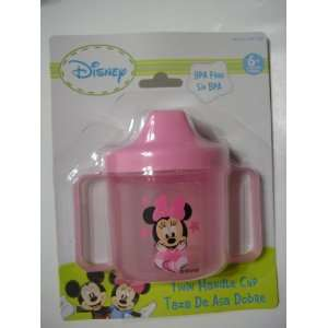 Disney Baby Minnie Mouse Sipping Cup with Double Handles Baby