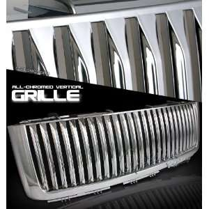 Truck 07 08 Vertical Style Grille Chrome Front Grill Automotive