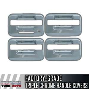 2004 2012 Ford F150 4dr Chrome Door Handle Covers (With