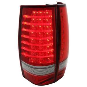 07 08 09 10 Chevy Tahoe / Suburban Redlines LED Tail Lights   Red