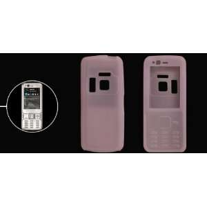 Pink Silicone Skin Case for Nokia N82 Cell Phones & Accessories