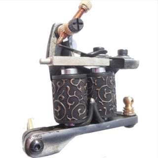HANDMADE Damascus Steel Tattoo Machine Gun Supply SALE   Fast Shipping