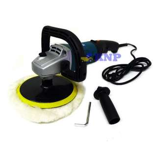 Heavy Duty 7 Electric Car Boat Paint Polisher Sander Detailing Buffer