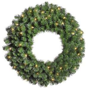 Green   Douglas Fir   50 Clear Dura Lit Lights   170 Tips   Vickerman