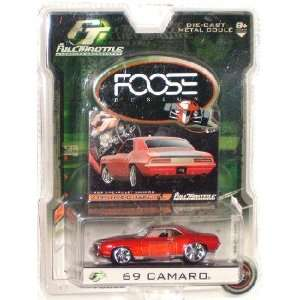 Full Throttle RC2 1969 Chevrolet Camaro Die Cast SM Scale