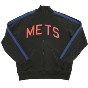 New York Mets French Terry Track Jacket by Banner Supply Co.