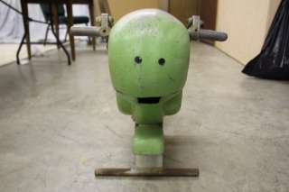 L403 VINTAGE 1950s CITY PLAYGROUND SADDLE MATE MR TURTLE HEAVY CAST